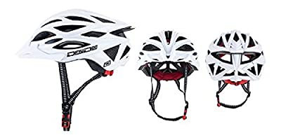 Dirty Dog Gremlin Adults Mens Womens Adjustable Bike Cycle Helmet - Matte White - S/M from Dirty Dog