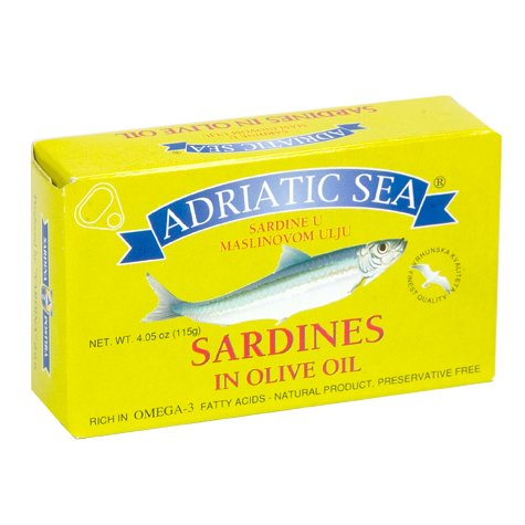 Adriatic Sea Sardines In Olive Oil 115G