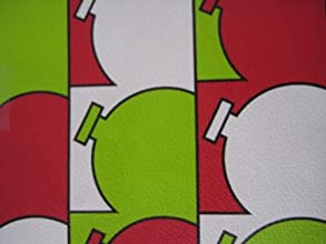 Christmas Gift Wrap Hip Holiday Ornaments Premium Wrapping Paper 32 Sq Ft Roll