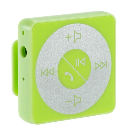 Abco Tech Bluetooth Hands-Free Calling & A2Dp Audio Streaming Adapter/Receiver For 3.5Mm Devices, Green