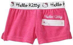 Hello Kitty Little Girls\'  Little Terry Short, Hot Pink, 4