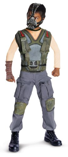 The Dark Knight Rises Deluxe Bane Child Costume Grey/Green Medium (8-10) Batman