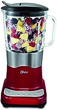 Oster Delighter - Batidora de vaso, 600 W, 6 velocidades, color rojo