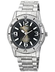 Q&Q Black Dial Men's Watch - Q686N205Y