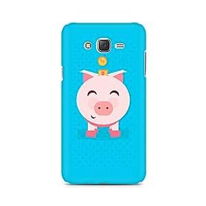 Ebby Pig Money Premium Printed Case For Samsung J1