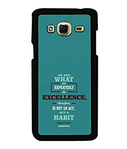 printtech Cool Quotes Success Back Case Cover for Samsung Galaxy J3 Pro