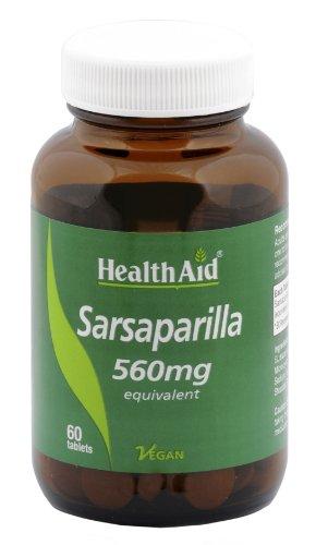 HealthAid Sarsaparilla 560mg - 60 Tablets