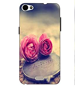 Case Cover Love Printed Soft Back Cover For LYF WATER 11