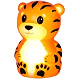 American Innovative Terry The Tiger Portable Night-Light with Rainbow Color Change