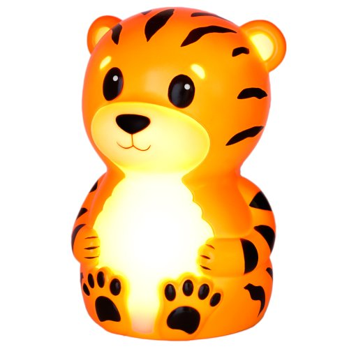 American Innovative Terry The Tiger Portable Night-Light with Rainbow Color Change (Portable Night Lights For Kids compare prices)
