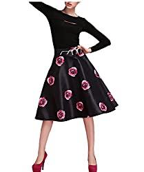 Filmlion Autumn European style minimalist fashion women tutu skirts