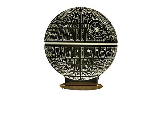 Star Wars Death Star 3D Light Table Lamp Home Decor Gadgets