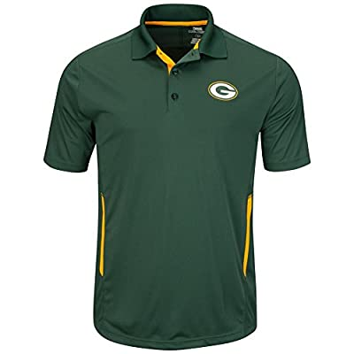 Green Bay Packers Mens Green Field Classic II Synthetic Polo Shirt