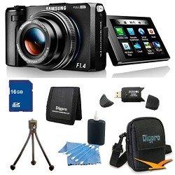 Samsung EX2F 12-megapixel Digital Camera with Built-in WiFi 16Gb Super Bundle