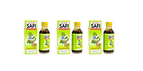 Hamdard Safi Natural Purifier - 100ml (Pack of 3) - Import It All