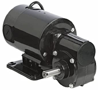 Bodine electric 4119 42a 5l series right angle dc for Right angle electric motor