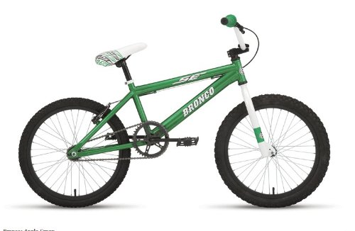 SE Bronco Mini Freestyle Bike 20 Apple Green