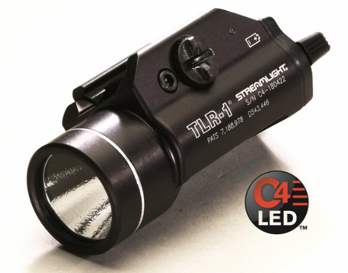 Streamlight Tlr 1 Rail Mounted Tactical Light Non Rechargeable C4 Led Anodized Aluminum Housing