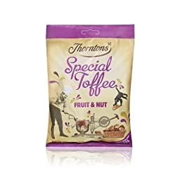 Thorntons Fruit And Nut Toffee Bag 300G