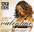 Afro Beauty Collection African Pony (Valentine) (Sensual Braid) - Color 1B - Off Black