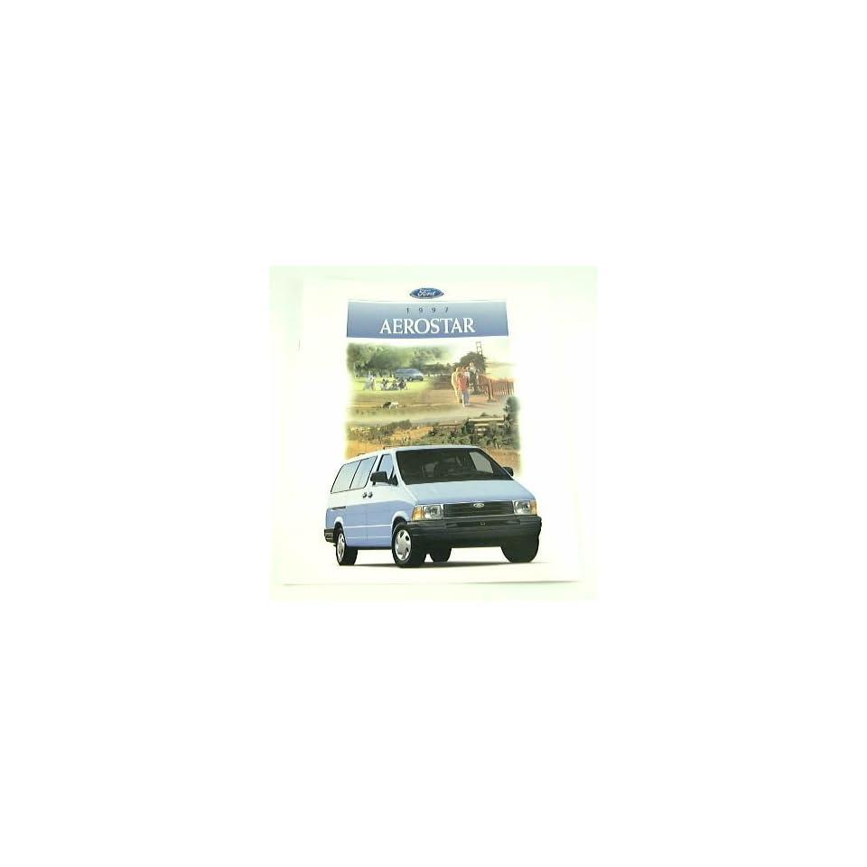 1997 97 Ford AEROSTAR Van BROCHURE XLT