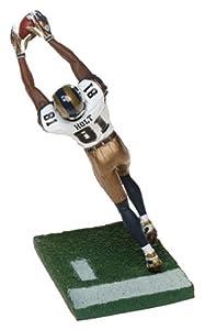 McFarlane Toys NFL Sports Picks Series 8 Action Figure Torry Holt (Saint Louis Rams) White Jersey #81 Gold Pants