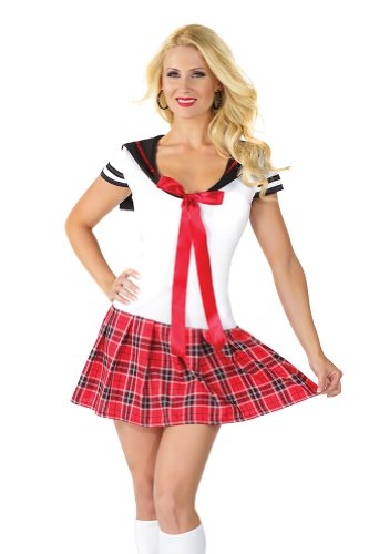 Bad school girl costume