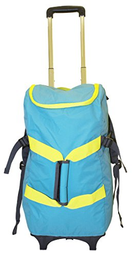 smart-backpack-blue-yellow-4-1-rolling-backpack-luggage-duffel-gym-bag-removable-dolly-laptop-tablet