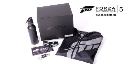 Forza 5 Limited Collector Paddock Edition #/3000 [No Game] Size XXXL XXX-Large related to Xbox One
