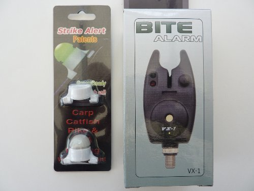 Fishing bite alarms and fishing bite indicator set vx1 and indicator