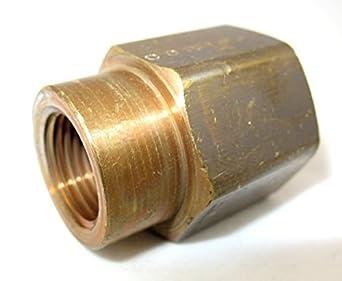 MettleAir NPT Female Brass Pipe Reducing/Reducer Coupling
