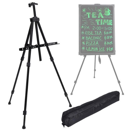 Illuminated Neon Led Message Writing Board Tripod Stand With Bag