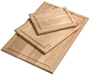Farberware 3-Piece Wood Cutting Board Set by Farberware
