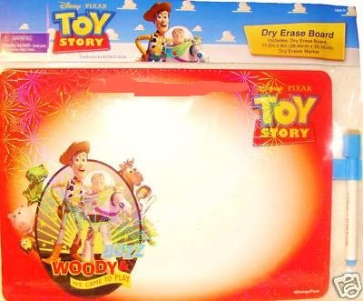 Disney Toy Story Red Dry Erase Message Board & Pen