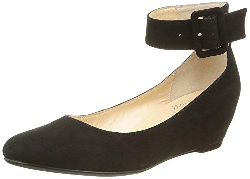 Jb Martin1 Grapa H16 - Ballerine Donna , Nero (Noir (Chevre Velours Noir)), 38