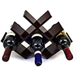 Sorbus® Wine Rack Butterfly - Stores 8 Bottles of Wine - Sleek and Chic Looking - No Assembly Required