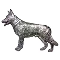 German Shepherd Dog Pewter Pin from George G. Harris