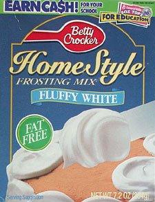 Betty Crocker F/ F Fluffy White Frosting 7.2 Oz - 6 Unit Pack