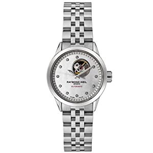 Raymond Weil Women's 2410-ST-97081 Freelancer Automatic Stainless Steel Watch from Raymond Weil