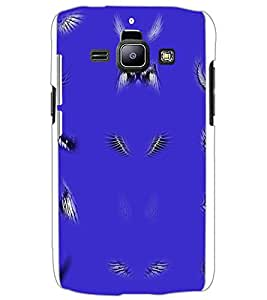 SAMSUNG GALAXY J1 WINGS Back Cover by PRINTSWAG