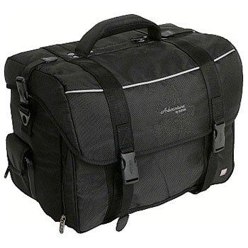 Dörr Man 2 Fototasche für kompakte DSLR Kamera, Weitwinkel/Standard-Objektiv und Blitzgerät schwarz
