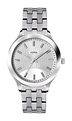 Aspen Aspen Workwear Analog Silver Dial Men's Watch - AM0040