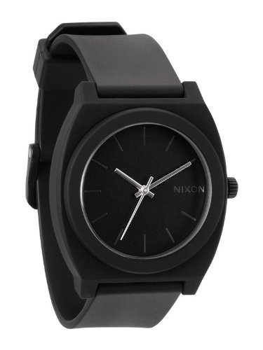 nixon-time-teller-p-watch-matte-black