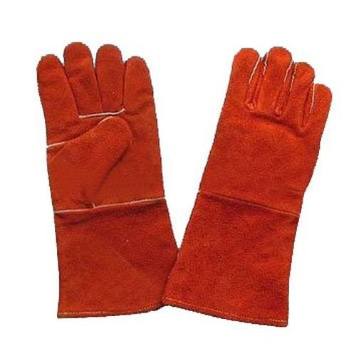 Leather Stove & Fireplace Gloves by Boone Hearth (Red) (Wood Stove Fire Proof compare prices)