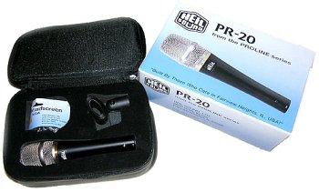 Heil Pr-20 Large Diaphragm Dynamic Microphone