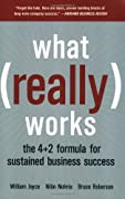 What Really Works: The 4+2 Formula for Sustained Business Success by William Joyce, Nitin Nohria, Bruce Roberson cover image