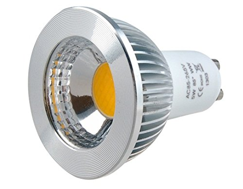 Gu10-5W-V-85/265V 5W Gu10 Warm White Led Spot Bulb With Ce Certification