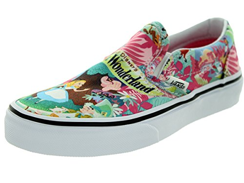 8c4bd374ce Vans Kids Classic Slip-On (Disney) Wonderland Pink - Import It All