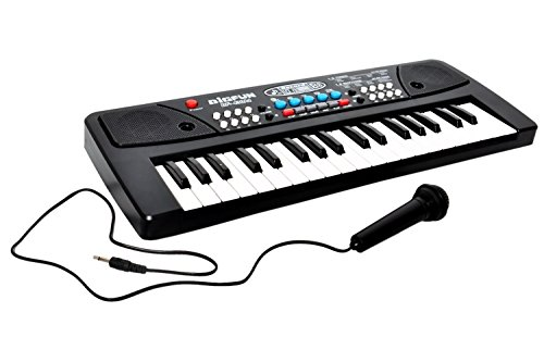 Zeemon Melody Electronic Musical Keyboard 37 Keys Piano With Mic  available at amazon for Rs.485