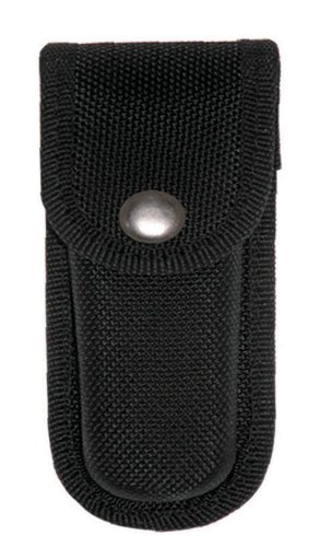 FURY FuryMold Black Cordura Sheath (Fits most 4-Inch to 4.75-Inch Folding Knives)